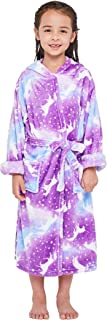 Unicorn Soft Unicorn Hooded Bathrobe Sleepwear - Unicorn Gifts for Girls