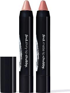 FIND - Lip Kit - Ultra Nude (Chubby Shiny Lipstick no.1 and