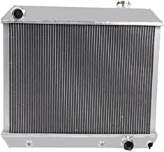 OzCoolingParts 3 Row Core Aluminum Radiator for 1961-1966 1962 63 64 65 Chevy GMC C/K 10 20 30 Trucks Suburban Pontiac Olds V8