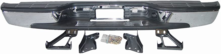 Chevy Silverado 99-07 Bumper Rear Back Chrome Fleetside