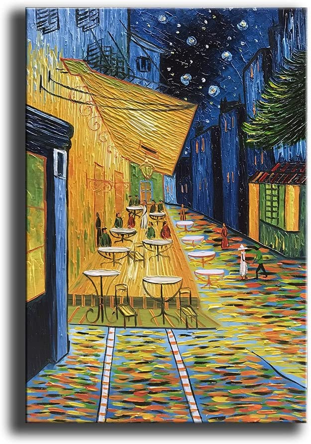 YaSheng Art Manufacturer direct Indefinitely delivery - Cafe Van Gogh Paintings Reproduction Ar Famous Oil