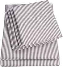King Size Bed Sheets - 6 Piece 1500 Thread Count Fine Brushed Microfiber Deep Pocket King Sheet Set Bedding - 2 Extra Pill...