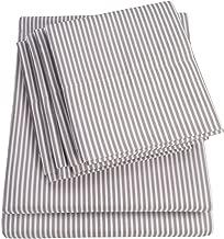 linen striped sheets