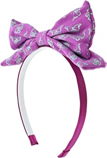 5.5 Inch Pop Up Butterfly Bow Headband Purple