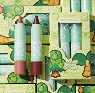 """Colourpop Animal Crossing Lip Tint Kit in """"Pick of the Bunch"""" - Set of 2 Coconut Juice & Incom-pear-able New in Box"""