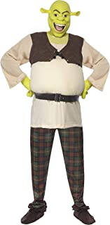 Smiffy's - Disfraz de shrek para hombre, talla UK 42-44 (