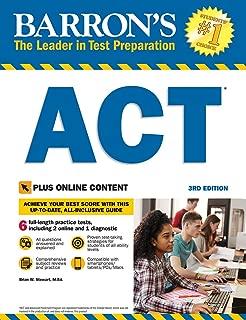 Barron's ACT, 3rd Edition: With Bonus Online Tests (Barron's Test Prep)