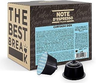 Note d'Espresso - Cortado Dek - Capsules de Café - Exclusivement Compatible avec les Machines Nescafé* et Dolce Gusto* - 4...