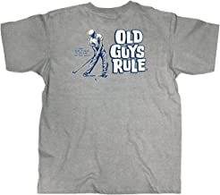 OLD GUYS RULE T Shirt for Men   It Don't Mean A Thing   Dark Ash