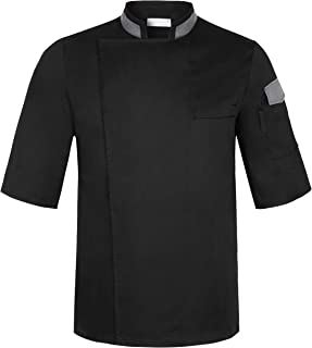 short sleeve executive chef coats