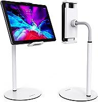 XIDU Supporto Tablet, Porta Cellulare da Tavolo Girevole a 360° ,Regolabile Collo Oca, Alluminio Supporto Tablet, Porta...