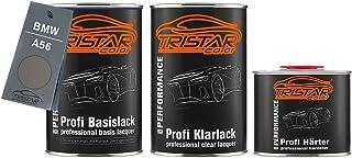 TRISTARcolor Autolack Set Dose spritzfertig für BMW A56 Chrome Line Shadow Metallic Basislack + 2K Klarlack 2,5L