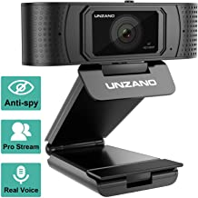 HD Webcam 1080p with Privacy Shutter, Pro Streaming Web Camera with Dual Microphone External USB Computer Camera for PC Laptop Desktop Mac Video Calling, Conferencing Skype Xbox One YouTube OBS �