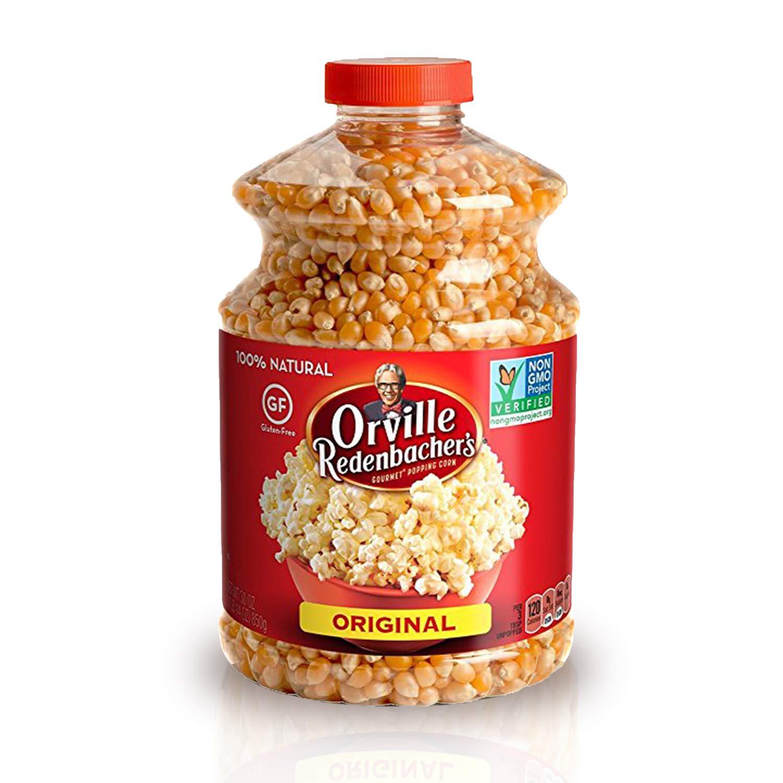 Orville Redenbacher's San Diego Mall Original Gourmet Popcorn Yellow Kerne Very popular!