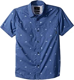 Fuji Mini Motif Short Sleeve Shirt (Toddler/Little Kids)