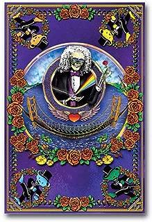 Studio B Deadheads Over The Golden Gate (Blacklight Poster - No Flocking) 24 x 36in