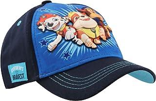 Nickelodeon boys Nickelodeon Toddler Hat, Paw Patrol Kids for Ages 2-7 Baseball Cap, Blue, 2-4T US
