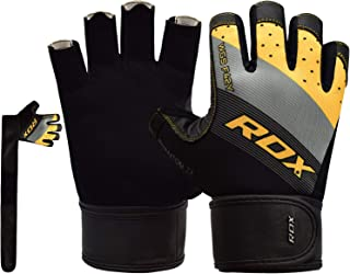 MEHRWEG RDX Fitness Handschuhe Trainingshandschuhe Handgelenkschutz Gewichtheben krafttraining Sporthandschuhe Bodybuilding Workout Gym Gloves