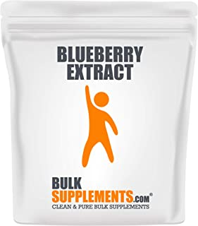 BulkSupplements.com Blueberry Extract (500 Grams)