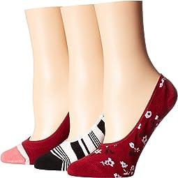 Camella 3-Pack Liner Socks