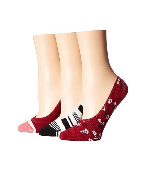 Kate Spade New York Camella 3-Pack Liner Socks