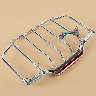 XFMT Air Wing Tour Pack LED Lighted Luggage Rack Compatible with Harley Davidson Touring 2014-2018