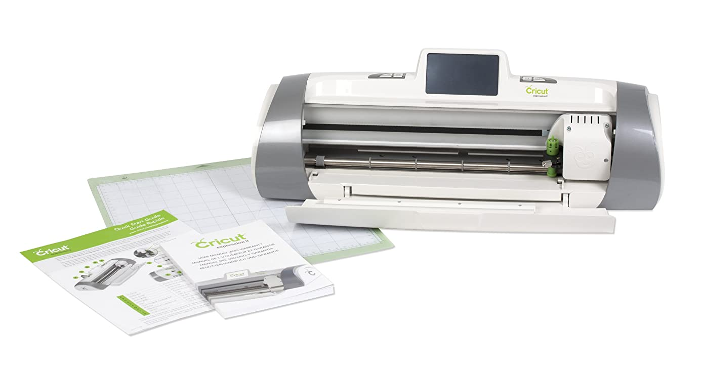 Cricut Expression 2 Electric Cutting Machine Without Starter Tool Kit Bundle amioou5753