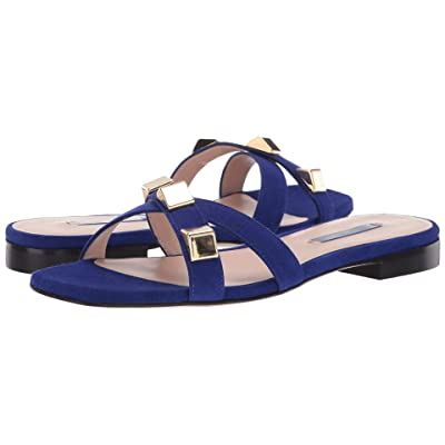 Stuart Weitzman Cross (Blue Violet Suede) Women
