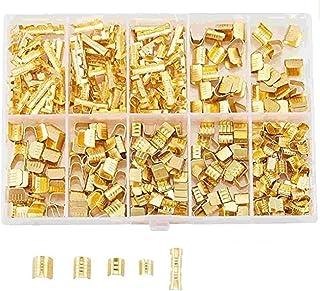 スプライス端子 5サイズ 380個セット 端子コネクタ 配線 加工 DIY 汎用 配線コネクター