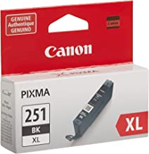 Canon CLI-251XL Black Ink Tank Compatible to MG6320 , IP7220 & MG5420, MX922, MG5520, MG6420, MG7120, iX6820, iP8720, MG75...