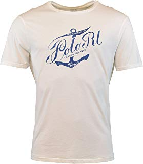 Polo Ralph Lauren Mens Custom Fit Graphic Logo T-Shirt