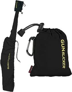 GunSlicker - Waterproof, Ultralight, Packable Gun Case for Rifles and Shotguns- Black