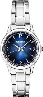 Seiko Women's Japanese Quartz Stainless Steel Strap, Silver, 0 Casual Watch (Model: SXDG99)