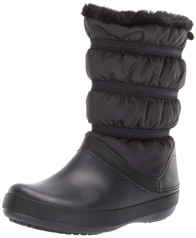 床を掃除する賛辞再開[Crocs] レディース - US サイズ: 4 M US カラー: ブラック