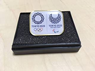 非売品 ケース入り 東京 2020 公式 オリンピック パラリンピック エンブレム コラボ ピンバッジ