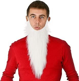 White Gnome Dwarf Character Costume Beard - One Size
