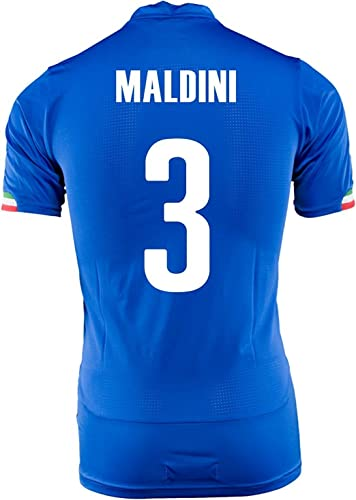 MALDINI   3 ITALIE ACCUEIL COUPE DU MONDE JERSEY 2014 (M)