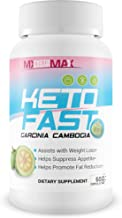 Keto Fast - Garcinia Cambogia - Help Block Fat & Carbs to Improve Your Weight Loss Journey - by MX Keto Rapid Max - Experience a Fast Keto Blast with This Garcinia cambogia Weight Loss Power Formula