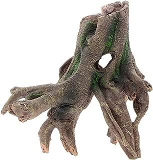 Saim Resin Stylish Driftwood Aquarium Fish Tank Tree Root Decoration Ornament