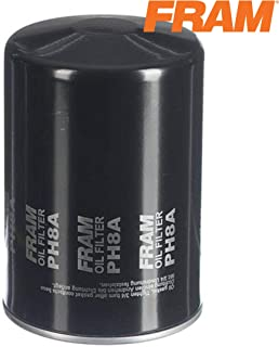 FRAM Extra Guard PH8A, 10K Mile Change Interval Spin-On Oil Filter