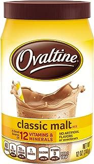 Ovaltine Classic Malt Beverage, 12 Ounce