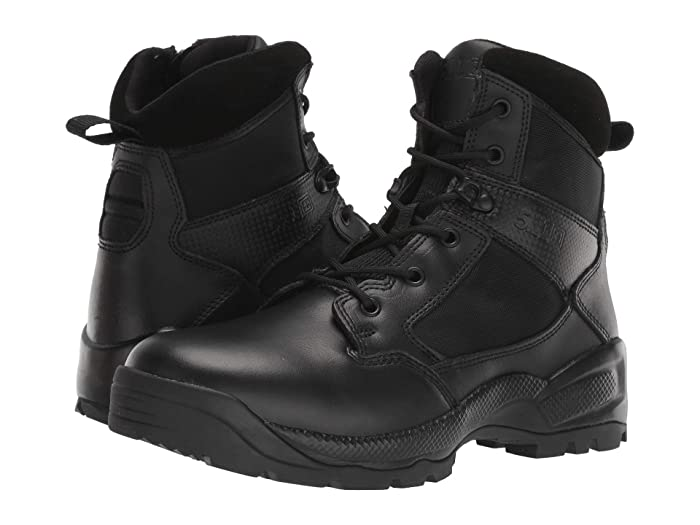 5.11 Tactical  6 ATAC 2.0 Side Zip (Black) Mens Boots