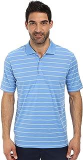adidas Golf Men's Classic 2 Color Stripe Polo Shirt