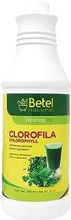 Chlorophyll Liquid by Betel Natural- 100% Liquid Extract 32 Oz- Clorofila Liquida