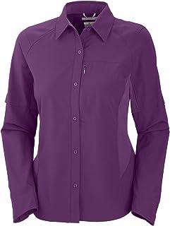 قميص سيلفر ريدج للنساء بأكمام طويلة من كولومبيا