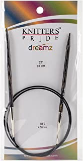 Knitter's Pride 7/4.5mm Dreamz Fixed Circular Needles, 32