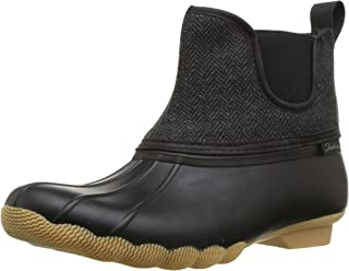 Women's Pond-Mid Herringbone Chelsea Duck Boot with Waterproof Outsole Rain