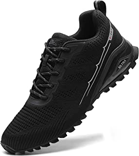 MARDICATO Herren Sportschuhe Cushion Schuhe Laufschuhe Straßenlaufschuhe Atmungsaktiv Walkingschuhe Outdoor Fitness Joggin...