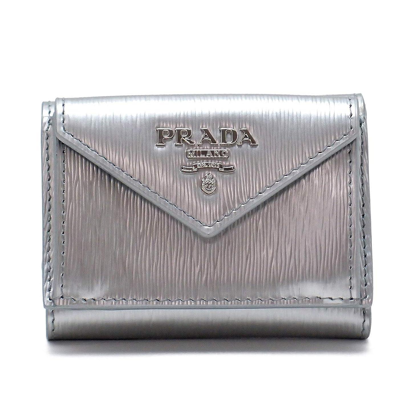 トラフ性交アシスタント[プラダ] PRADA 財布 三つ折り財布 レディース VITELLO MOVE 1MH021-2EZZ-F0135 [アウトレット品] [並行輸入品]