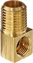 Eaton Weatherhead 402X4X4 Brass CA360 Inverted Flare Brass Fitting, 90-Degree Elbow, 1/4